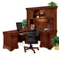 Left Return L-Desk with Hutch, 13382