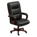 Faux Leather Big and Tall Chair, 50819