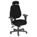 Ergonomic Big and Tall Chair with Headrest, 56019
