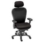 CXO High-Back Mesh Chair with Headrest, 56745