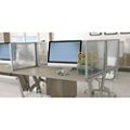 "36""W x 18""H Privacy Panel for Desk Mount, 20131"
