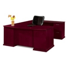 Bow Front Reversible U-Desk, 13335