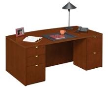 """Fairbanks 72"""" Bowfront Desk, 13347"""