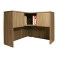 "Wood Grain Corner Desk Hutch - 42""W, 14285"