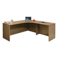 "Wood Grain Corner L-Desk with Right Return - 71""W, 14293"