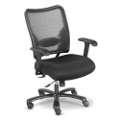 Big and Tall Mesh Chair with Mesh Fabric Seat, 50608