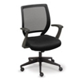 Essential Collection Mesh Chair with Memory Foam Seat, 50845