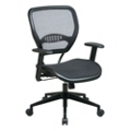 Task Chair with Mesh Seat and Back, 57145
