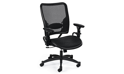 Ergonomic Air Grid Mesh Task Chair, 56483
