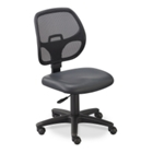 Mesh Back Task Chair with Vinyl Seat, CD05338