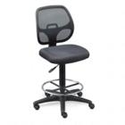 Adjustable Mesh Back Office Stool - Vinyl Seat, CD00476
