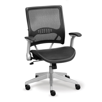 Linear Collection Mesh Chair with Mesh Seat, 56946
