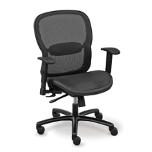 Linear Collection All-Mesh Big and Tall Chair, 56948