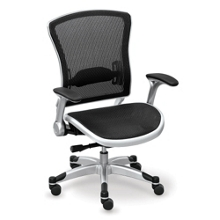 Linear Collection Mesh-Back Chair with Mesh Seat, 56951