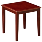 Solid Wood End Table, 75631-2