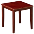 Solid Wood End Table, 75631-1