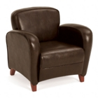 Classic Faux Leather Lounge Chair, CD00526