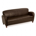 Classic Faux Leather Sofa, 75166