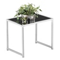Glass Top End Table, 75939