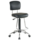 Stool with Teardrop Footrest, CD01413
