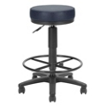 Vinyl Doctor's Stool with Foot Ring, 25041