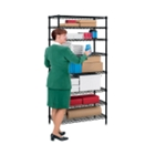 Storage Unit with 8 Wire Shelves, CD03301