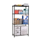 "Storage Unit with 4 Wire Shelves 48"" x 24"", CD03304"