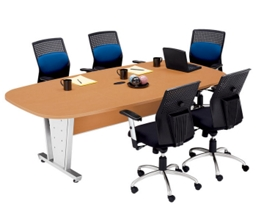 Oval Conference Table 8' x 4', 40602