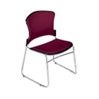 Armless Fabric Stack Chair, CD03352