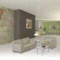 Three Piece Lounge Chair Set , 53912