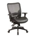 Matrex Mesh Back Leather Chair, 56563