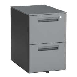 Steel Two Drawer Mobile File, 36326