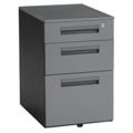 Steel Three Drawer Mobile File, 36327
