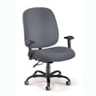 Big and Tall Ergonomic Task Chair with Arms, CD02659