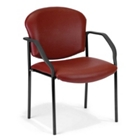 Vinyl Guest Reception Chair, CD03370
