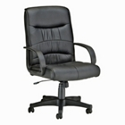 Leatherette Mid-Back Chair, CD03449