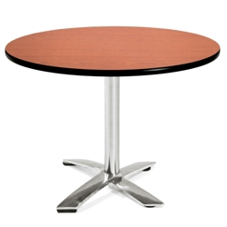 "Round Flip-Top Breakroom Table - 42"" , 41668"