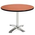"""Round Flip-Top Breakroom Table - 42"""" , 41668"""
