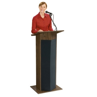 Lectern with Microphone, 43341