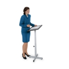 Portable Lectern with Adjustable Height, 90310
