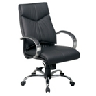 Mid Back Leather Chair, CD01498