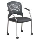 Stack Chair with Casters, CD01502