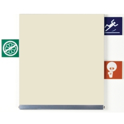 ICON Alert Signage with 10 Icon Tabs, 25226