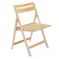 Scoop Wood Folding Chair, 25228