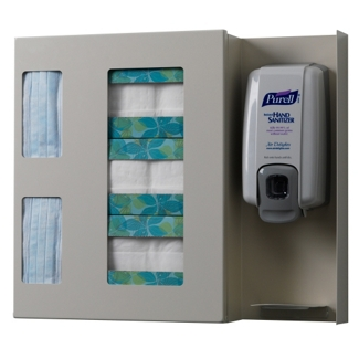 Peter Pepper Infection Control Glove Box and Gown Dispenser, 25243
