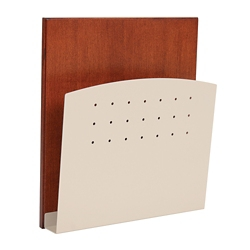 HIPAA-Compliant Steel Wall Chart Holder, 25247