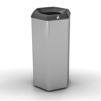 Peter Pepper 12 Gallon Recycle and Waste Bin, 25250
