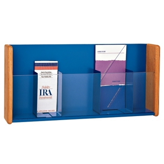 Peter Pepper Literature Holder with Dividers, 25253