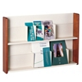 Peter Pepper Two-Tier Literature Holder with Dividers, 25254