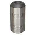 Peter Pepper 35 Gallon Round Top Waste Receptacle, 25256